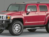 2006 Hummer H3 In Victory Red. You can thank the Sunday