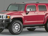 2006 Black Hummer H3 4-Speed Automatic with Overdrive
