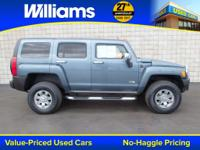 Options:  2006 Hummer H3|Gray|One Owner. Abs Brakes|Air
