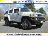 WOW! This is one hot offer! This HUMMER H3 gets 16