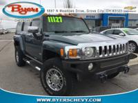 Slate Blue Metallic 2006 Hummer H3 Luxury 4WD 4-Speed