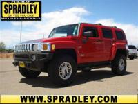 This vehicle is absolutely striking! This HUMMER H3