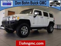 2006 HUMMER H3 4DR 4WD SUV with just 66295 miles. The