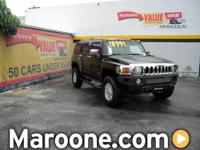 autonation certified hummer h3 with full power, heated