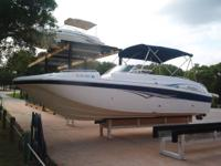 2006 Hurricane 260 Sundeck, Mercruiser 496 Mag, 106