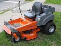 2006 husqvarna ez4218 zero turn. 18 hp kohler engine.