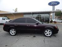 3.3L V6 DOHC 24V, ABS brakes, AM/FM radio, CD player,