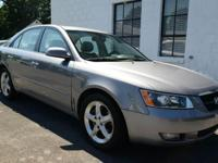 2006 HYUNDAI SONATA 'GLS' SEDAN! FINANCING! WARRANTY!