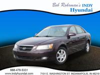 This 2006 Hyundai Sonata is complete with top-features