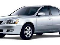 Come test drive this 2006 Hyundai Sonata! This car