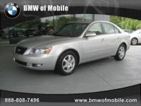 BMW of Mobile presents this 2006 HYUNDAI SONATA 4DR SDN