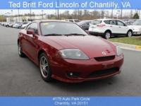 Introducing the 2006 Hyundai Tiburon! An affordable