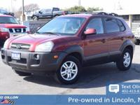 Safe and reliable, this 2006 Hyundai Tucson GLS makes