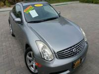 Options:  2006 Infiniti G35 Base 2Dr Coupe