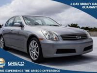 Recent Arrival! 2006 Infiniti G35 Silver Odometer is