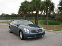 LOW MILES - 54,831! G35 trim. Heated Leather Seats, CD