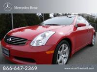 Mercedes-Benz of Freehold presents this 2006 INFINITI
