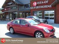 This 2006 Infiniti G35 has a clean Carfax and is Vista