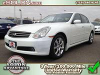 2006 Infiniti G35 Sedan 4dr Car Our Location is: Dave