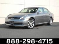 2006 Infiniti G35 Sedan Our Location is: AutoNation