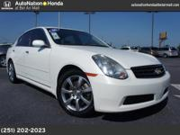 2006 Infiniti G35 Sedan Our Location is: Treadwell