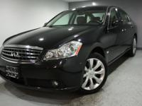 2006 INFINITI M35 ONE-OWNER! CARFAX CERTIFIED! UNDER