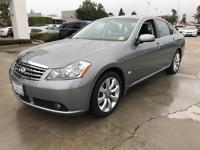 Options:  2006 Infiniti M35 4Dr Sdn|Gray|Automatic|3.5L