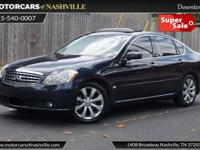 This 2006 INFINITI M35 4dr 4dr Sedan features a 3.5L V6