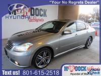 Gray 2006 INFINITI M45 RWD 5-Speed Automatic 4.5L V8