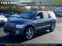 This 2006 Infiniti QX56 4X4 boasts features like Bose