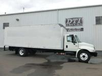 "24'L X 96""W X 90""H FRP Van Body With Hardwood Floor"