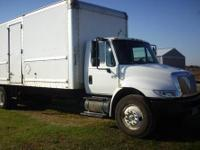 International 4300 Medium Duty Straight truck with