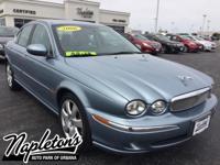Recent Arrival! 2006 Jaguar X-TYPE in Blue, SUNROOF,