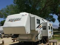 Jayco Talon 5th wheel in fantastic shape, with all