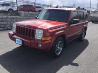Jeep Commander 4.7 Liter V8. Auto. 4x4. Trail Rated.