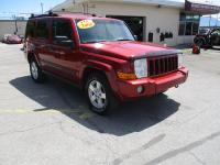 Options:  2006 Jeep Commander 4Wd 4D Wagon (V8)|Red|Air