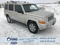 Tackle the Toughest Terrain in Your 2006 Jeep Commander
