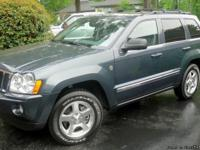 Jeep 2006 Grand Cherokee Limited 4x4. Only 29,000