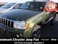 Our 2006 Jeep Grand Cherokee Limited has loads of plush