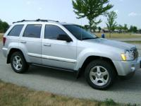 Jeep Grand Cherokee Limited 2006 4X4 Silver Metallic
