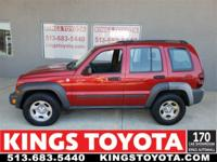 2006 Jeep Liberty Sport 4WD 6-Speed Manual PowerTech