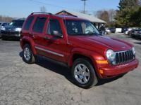 This 4WD 2006 Jeep Liberty Limited is in great shape