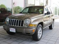 2006 Jeep Liberty Limited PowerTech 3.7L V6 4WD Gold
