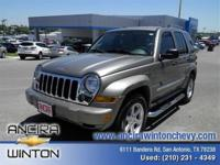 (210) 625-8496 ext.2322 This used Jeep Liberty Limited