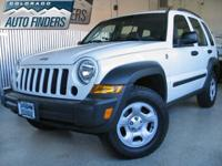 2006 White Jeep Patriot Sport Denver/Aurora. GREAT ON