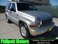 Options Included: N/A2006 Jeep Liberty Sport, silver