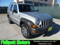 Options Included: N/A2006 Jeep Liberty, silver with