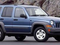 This 2006 Jeep Liberty Sport just arrived! Well