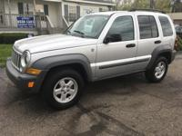 Options:  2006 Jeep Liberty Sport 4Dr Suv