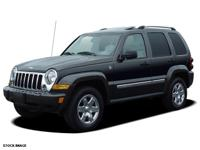 Recent Arrival! 2006 Jeep Liberty Sport White 4WD.